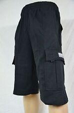 NWT Proclub Heavy Weight Fleece Cargo Shorts Mens Sweatpants Pocket S-7XL