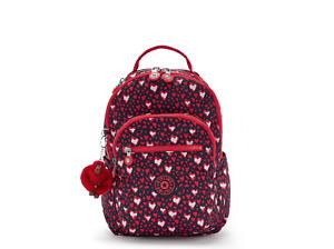 Kipling Small Backpack SEOUL S Tablet Protection HEART FESTIVAL SS21 RRP £83