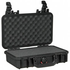 Pelican 1170 Equipment Case With Foam With 2 Padlock Holes Black Small