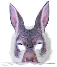 Authentische Hasen Maske NEU - Karneval Fasching Maske Gesicht