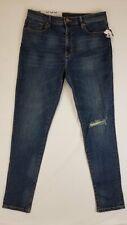 BDG Women's Blue High Waist Skinny Jeans Sz 30 NWT