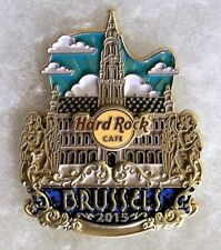HARD ROCK CAFE BRUSSELS LIMITED EDITION ORIGINAL ICON CITY SERIES PIN # 85274
