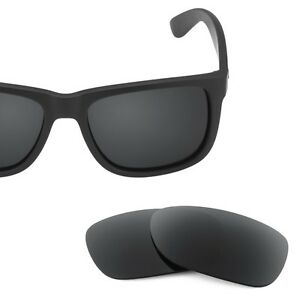 SURe Polarized Black Replacement Lenses for Ray Ban 4165 (54)