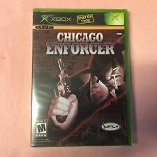 CHICAGO ENFORCER XBOX & Xbox 360 playable -3pics, Sealed -NEW