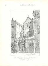1903 Shipton Court New Library And Drawing-room New Entrance Porch