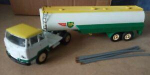 Dinky camion unic  esterel semi-remorque citrene BP 887 63 + porte ampoule pile