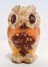 Vintage mid century MAM Originals Pottery OWL Figurine Fort Worth Texas