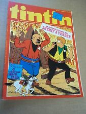"MAGAZINE ""TINTIN, no 197"" (1979) LES ARCHIVES DE MOULINSART...."