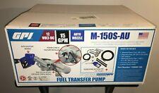 GPI 12V Fuel Transfer Pump 15 GPM M-150S-AU