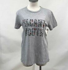 Obey Women's T-Shirt Vacant Youth Heather Grey Size S NWT Shepard Fairey Flowers