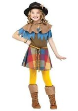 Scarecrow Totally Ghoul Girl's Wizard of Oz Costume Size Small 4-5