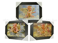 3 Dimension 3D Lenticular Picture Baby Angel Feather Wing Butterfly Cloud Bow