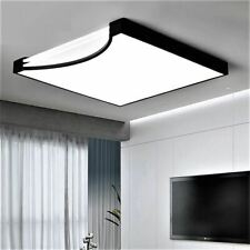 Modern LED Ceiling Light Square LED Lamp Remote Cool Warm change Dimmable 96W