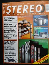 Stereo 7/09 Brown directed 510, RESTEK Mini Cab, Levinson no 532, ripnas, KEF IQ 90