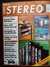 Stereo 7/09 marrón dirigida por 510, restek mini CAB, Levinson no 532, ripnas, kef IQ 90