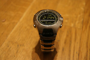 Armband Uhrenarmband Schwarzes Gummi Wasserdicht Für Suunto Observer SR 18mm