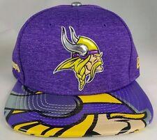 Minnesota Vikings NFL 17 Draft New Era 9Fifty Snapback Hat Cap