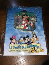 Disney Pin Lilo And Stich Family Pin Gathering New In Package