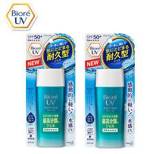 2 Bottle Kao BIORE UV Aqua Rich Watery Gel Sunscreen SPF50+ PA++++ 90mL