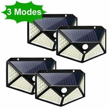3 Modes LED Solar Light Outdoor Lamp PIR Motion Sensor Wall Light Waterproof