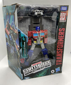 🔥NEW Transformers War for Cybertron Earthrise Optimus Prime WFC-E11 HASBRO