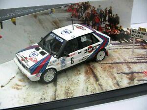 WOW EXTREMELY RARE Lancia Delta Biasion Winner M.Carlo 1987 WRC 1:43 Vitesse-HPI