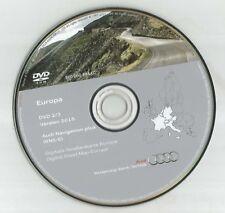 NOT UK !!!------AUDI RNS-E NAVIGATION DISC DVD 2/3 SAT NAV MAP 2016 FRA GER ITA
