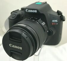 Canon EOS Rebel T7 DSLR Camera with a Canon 18-55mm 1:3.5-5.6 IS II Lens