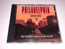 Philadelphia movie score CD Howard Shore Epic Records 1994 USED