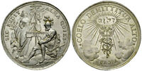 Augsburg 1697 Unc Medal Jehovah יהוה Rare Europe Pewter Germany