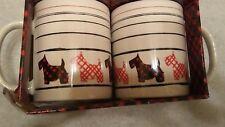 2 Msrf Inc Design Studios Scottish Terrier / Scottie Dog Mugs