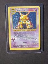 Pokemon SHADOWLESS ALAKAZAM 1/102 - BASE SET HOLO (PL)