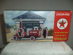 Collectible Texaco Tanker Truck Bank