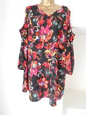 """FAB UNLINED LIGHTWEIGHT DRESS BY PAPAYA """"CURVE"""" IN VG CON SIZE UK 18  BUST 46"""""""