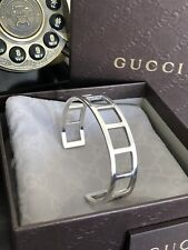 Most Amazing Gucci Silver  Bracelet Made In Italy Rare And Sold Out !!!