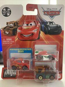 Disney Pixar Cars - Mini Racers Lightning McQueen Mater Francesco Bernoulli