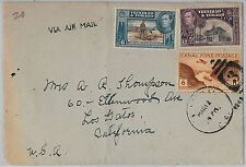 TRINIDAD & TOBAGO / CANAL ZONE  -  POSTAL HISTORY -  MIXED FRANKING on COVER