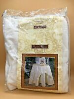 """Sherry Kline 54"""" Table Linen with 4 Tassels NEW IN BOX"""
