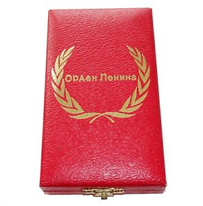Original Lenin Orden Verleihungsetui