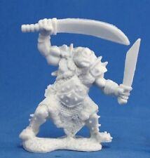 Reaper Bones 77051 Orc Stalker Two Weapons