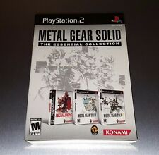 Metal Gear Solid The Essential Collection ☆☆ Complete, NM+ ☆☆ PS2 Playstation 2