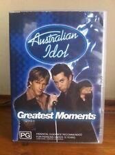Australian Idol Dvd Greatest moments 2003 Oop Htf Guy Sebastian Marcia Hines