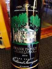 Frank Family Napa Valley Cabernet 2014  **6 BOTTLES**