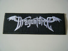 DRAGONFORCE PATCH Embroidered Iron On Heavy Metal Band Badge Logo NEW