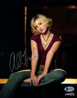 "ALLISON MACK Signed Autograph SMALLVILLE ""Chloe"" 8x10 Photo Beckett BAS #U12135"