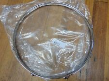 "New 2.3 Chrome Drum Hoop, 15""- 8  Hole/Lug, Tom / Snare Batter WW Shipping"