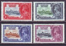 Falkland Islands 1935 SC 77-80 MH Set Silver Jubilee