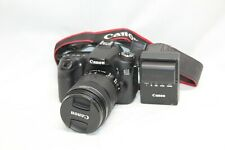 Canon 70D 20.2MP  SLR Camera / Canon EF-S IS 18-135mm STM LENS 7300shutter count