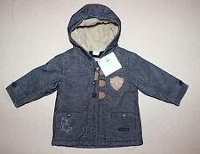 DISNEY BABY manteau blouson bébé WINNIE bleu jean, taille 9 mois,  neuf