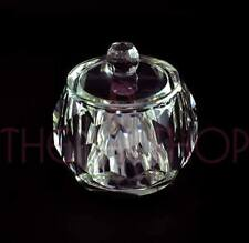 Quality Crystal Glass Jewellery Dish With Lid (30ml)
